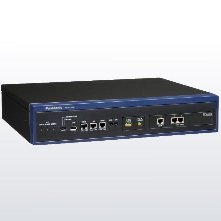Компания Panasonic разработала новую IP АТС для малого и среднего бизнеса -KX-NS1000.  Новая АТС позиционируется как...
